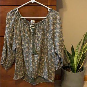 Denim & Supply Ralph Lauren blouse floral size XS
